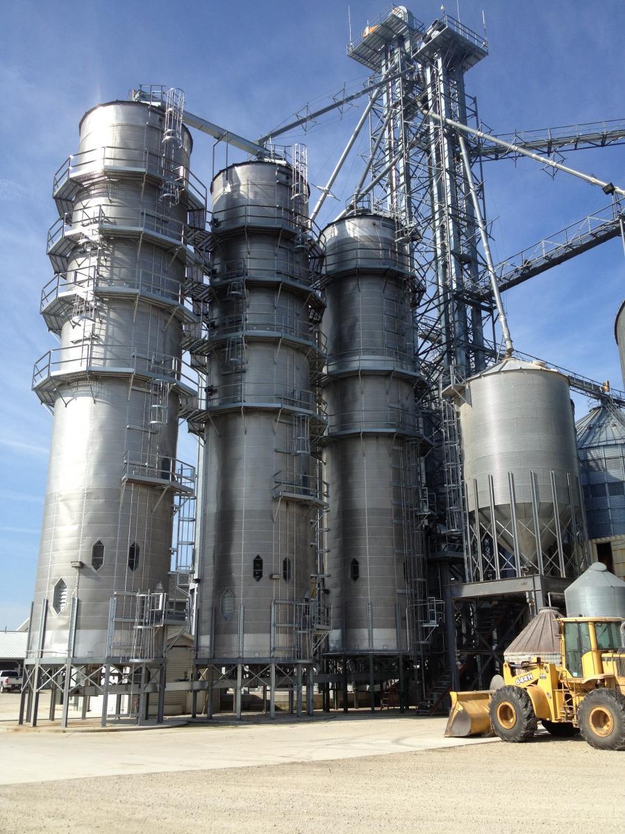 Зерносушилки башенные