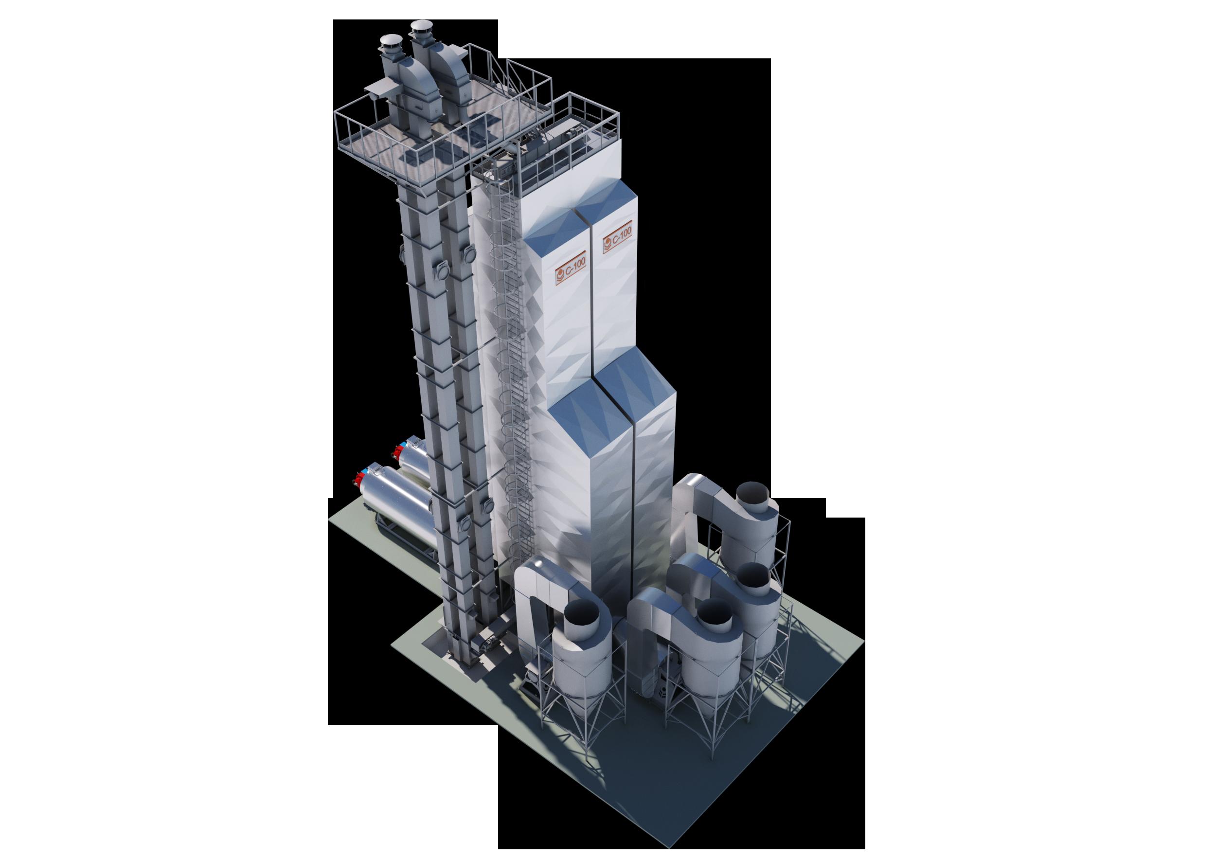 Зерносушилка С-100-2 Стандарт