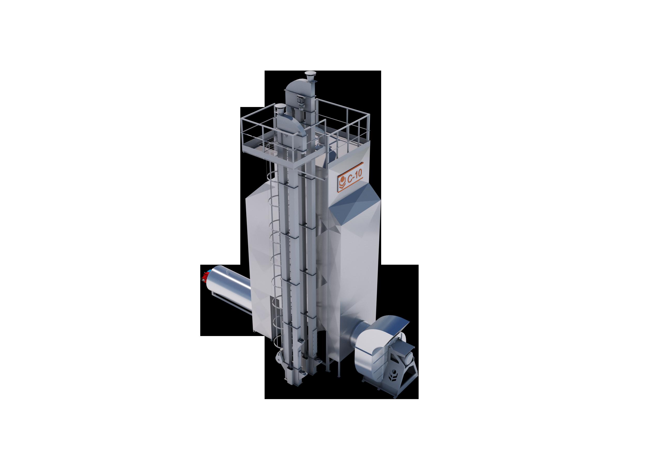 Зерносушилка С-10 Оптимум ВР
