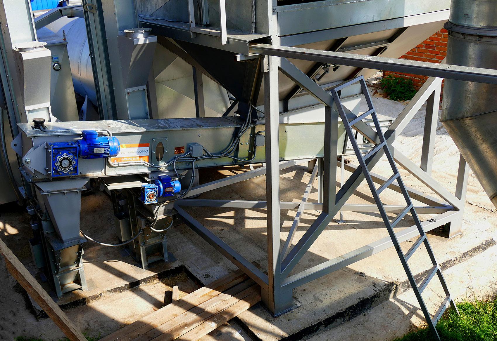 Транспортеры зерна цепные ремень грм фольксваген транспортер