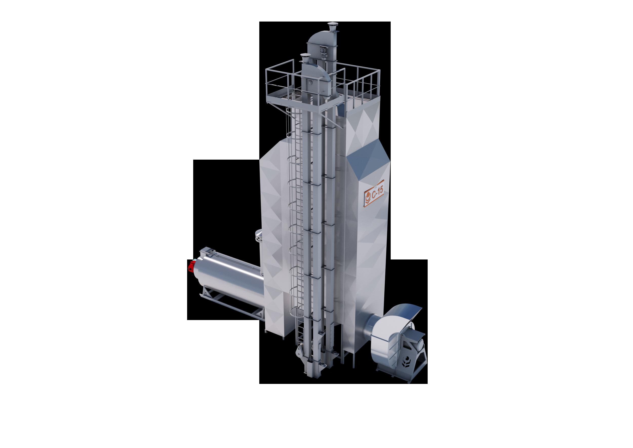 Зерносушилка С-15 Оптимум ВР