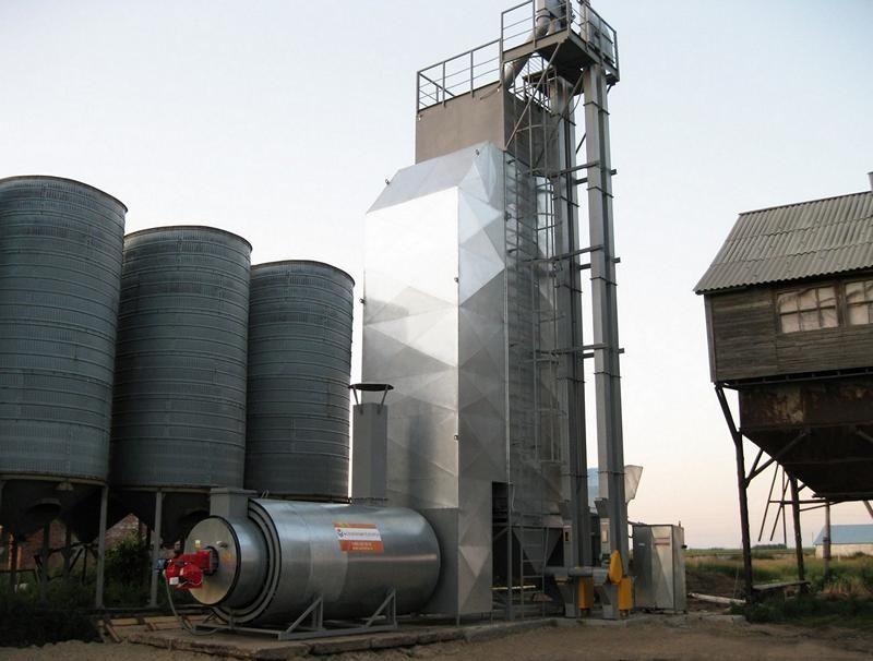 газовая зерносушилка Агропромтехника